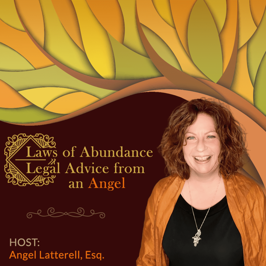 Laws of Abundance - Legal Advice from an Angel